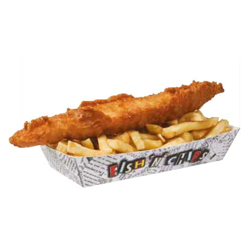 Fish N Chips tray SMALL